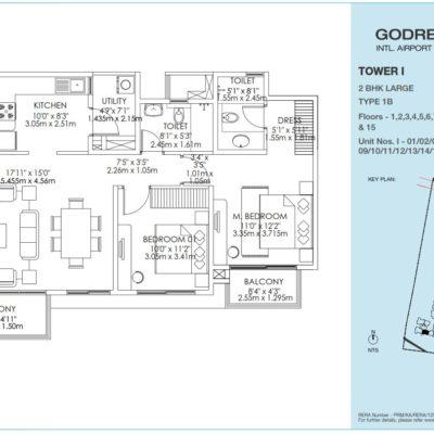 godrej-aqua-2-bedroom-floor-plan