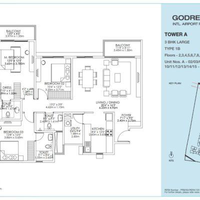 godrej-aqua-3-bhk-flat-floor-plan